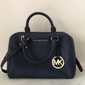 Navy Blue Michael Kors Bag!